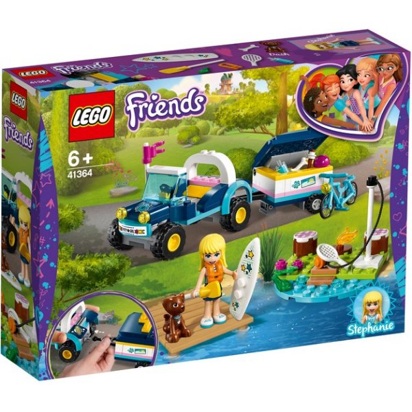 LEGO Friends 41364 Багги с прицепом Стефани