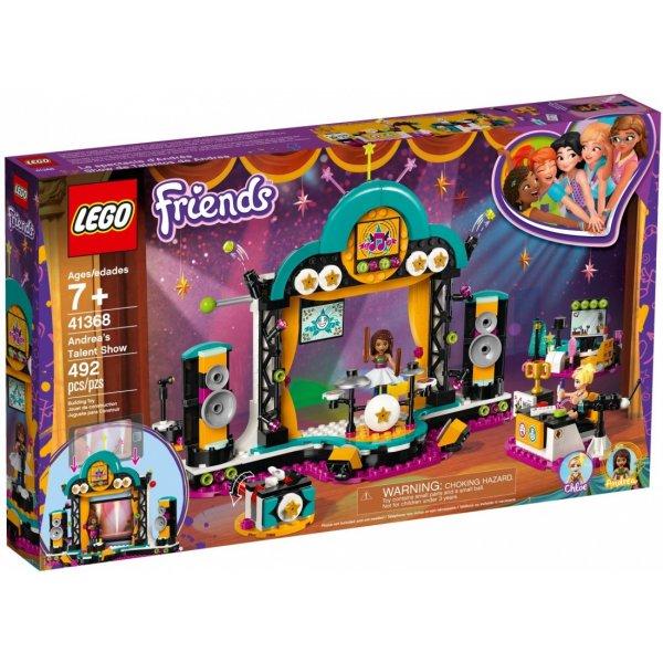 LEGO Friends 41368 Конкурс талантов Андреа