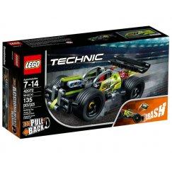 Набор лего - Зелёный гоночный автомобиль