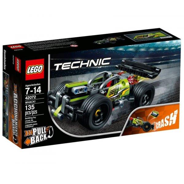 Набор Лего Зелёный гоночный автомобиль