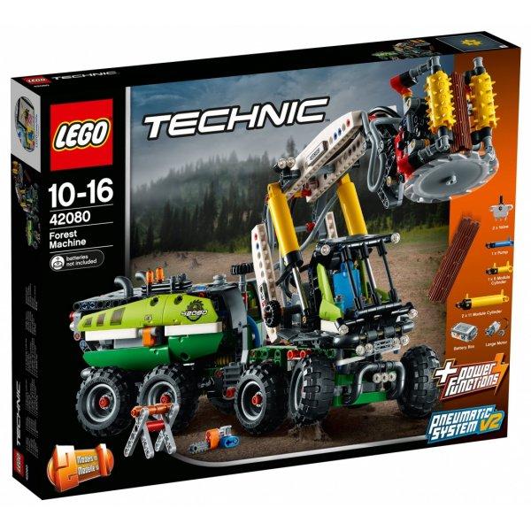 Набор Лего Лесозаготовительная машина
