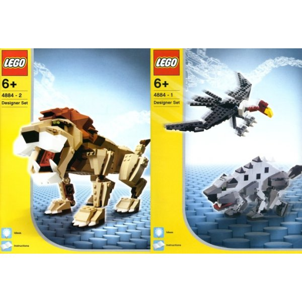 LEGO Эксклюзив 4884 Дикие охотники