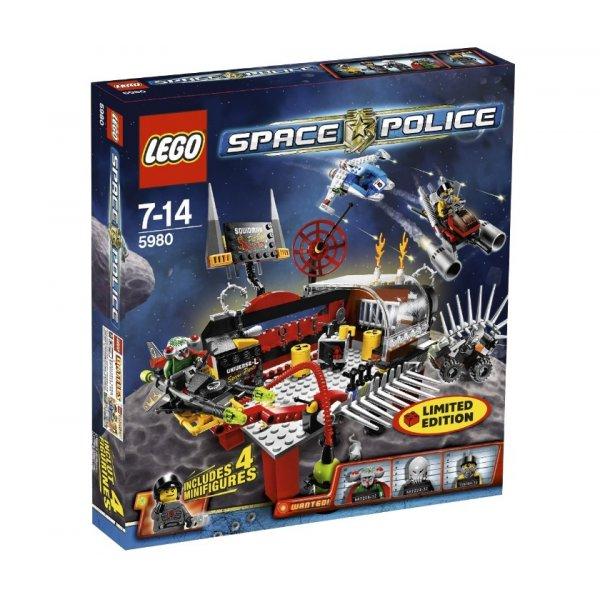 LEGO Эксклюзив 5980 База Человека-Кальмара
