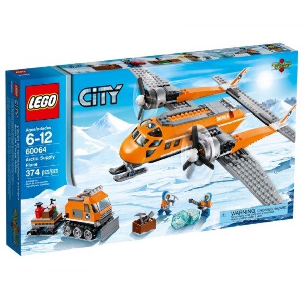 LEGO City 60064 Арктический грузовой самолёт