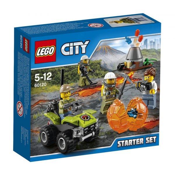 LEGO City 60120 Набор для начинающих: Исследователи вулканов