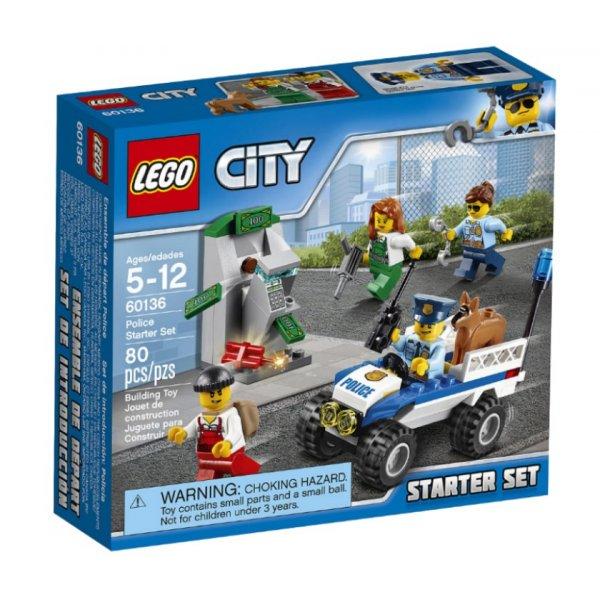LEGO City 60136 Набор для начинающих: Полиция