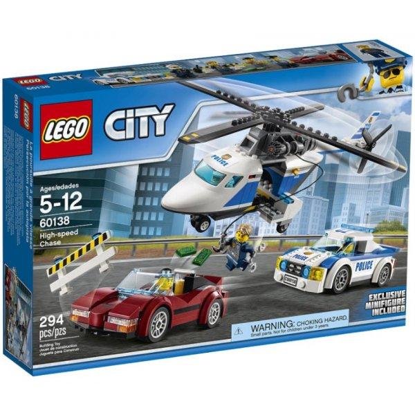 Набор Лего Конструктор LEGO City 60138 Стремительная погоня