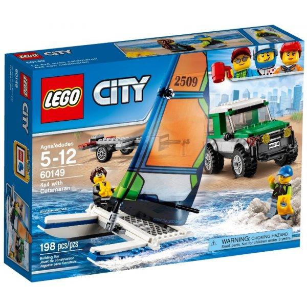 LEGO City 60149 Внедорожник с прицепом для катамарана