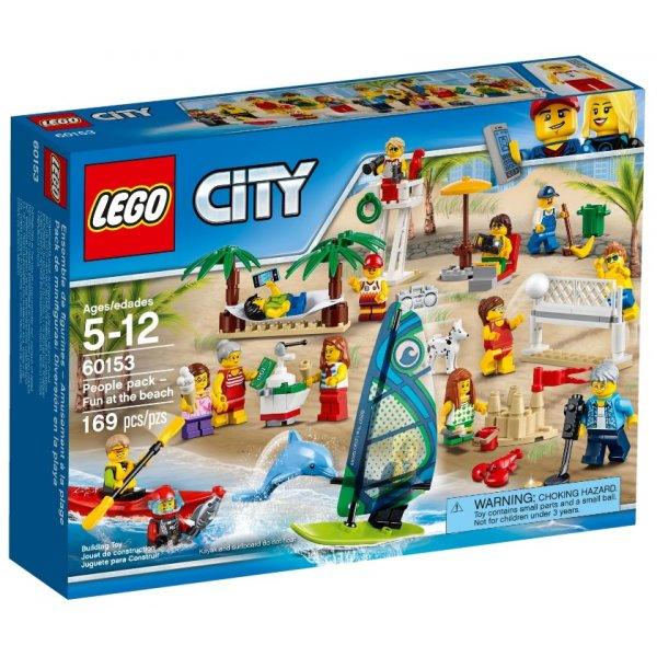 LEGO City 60153 Отдых на пляже - жители LEGO CITY
