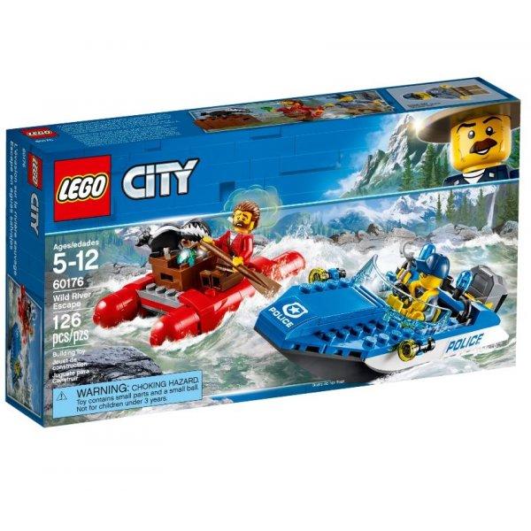 Набор Лего Конструктор LEGO City 60176 Бегство по горной реке