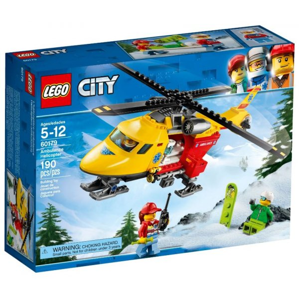 LEGO City 60179 Вертолёт скорой помощи
