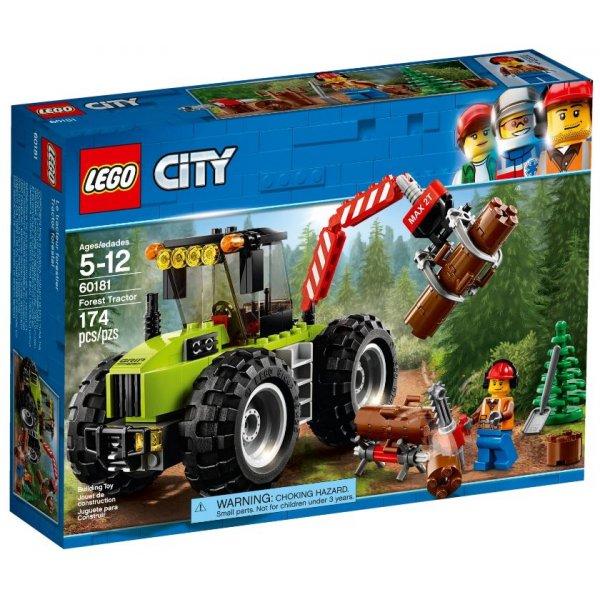 Набор Лего Лесной трактор