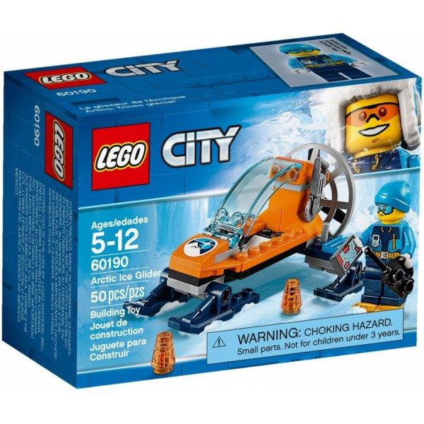 LEGO City 60190 Арктическая экспедиция: Аэросани
