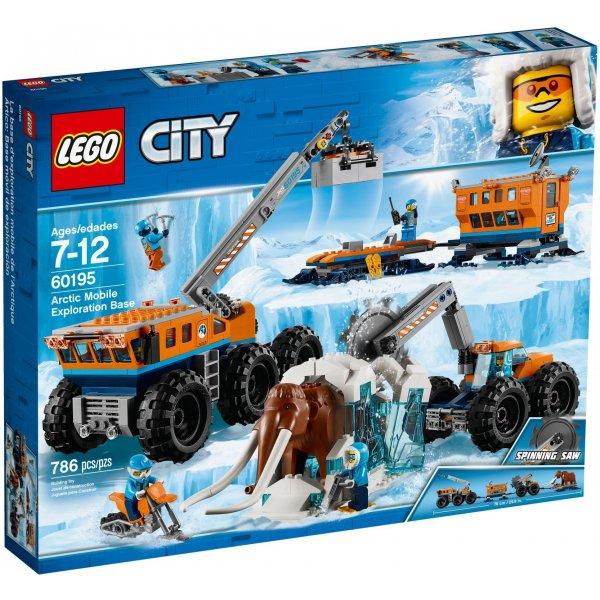 LEGO City 60195 Арктическая экспедиция: Передвижная арктическая база