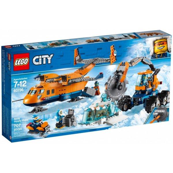 LEGO City 60196 Арктическая экспедиция: Грузовой самолёт
