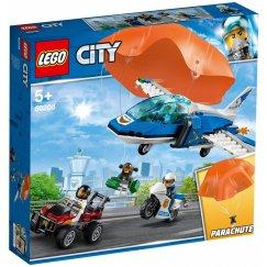 Набор лего - Конструктор LEGO City 60208 Воздушная полиция: арест парашютиста