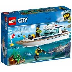 Набор лего - Яхта для дайвинга