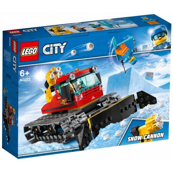 Набор Лего Конструктор LEGO City 60222 Снегоуборочная машина