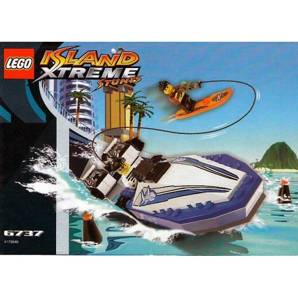 LEGO Эксклюзив 6737 Волнорез