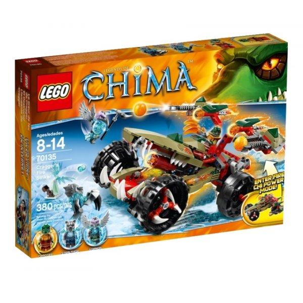 LEGO Legends of Chima 70135 Огненный Страйкер Краггера