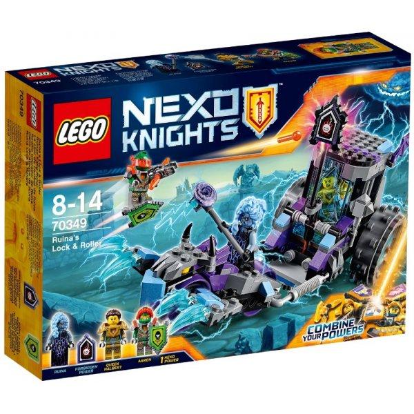 LEGO Nexo Knights 70349 Мобильная тюрьма Руины