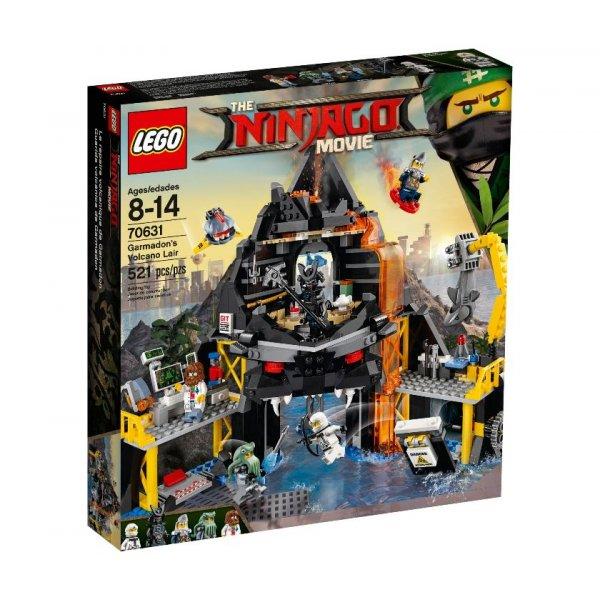 LEGO Ninjago 70631 Логово Гармадона в жерле Вулкана