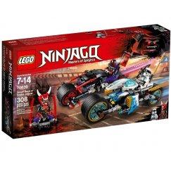 Набор лего - Конструктор LEGO Ninjago 70639 Уличная погоня