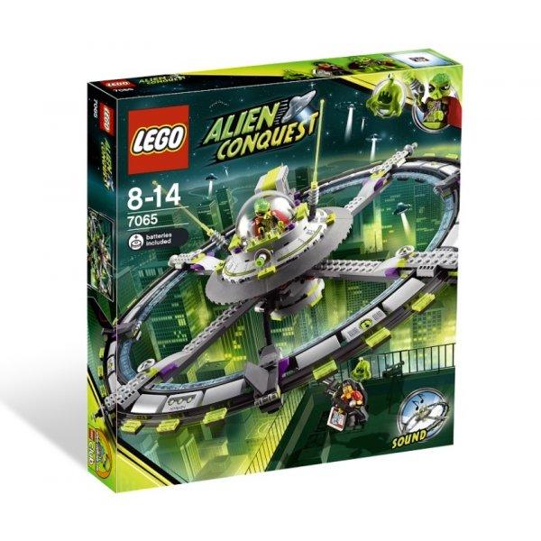 LEGO Эксклюзив 7065 Главный корабль пришельцев