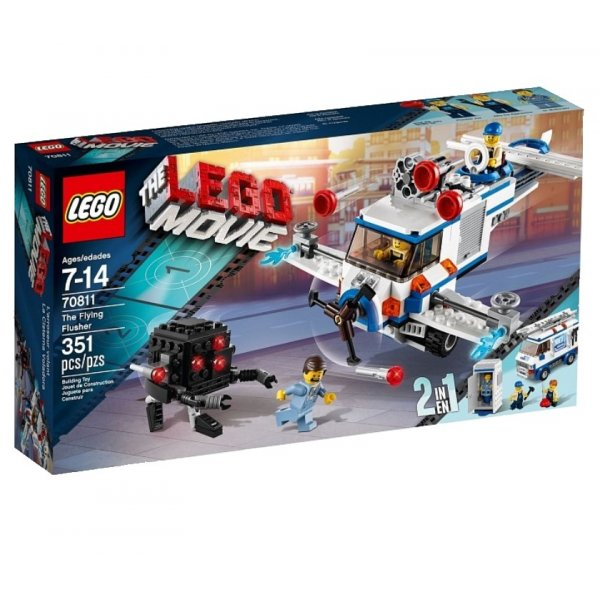Набор Лего Конструктор LEGO The LEGO Movie 70811 Летающая поливалка