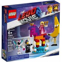 Набор лего - Конструктор LEGO The LEGO Movie 70824 Познакомьтесь с королевой Многоликой Прекрасной