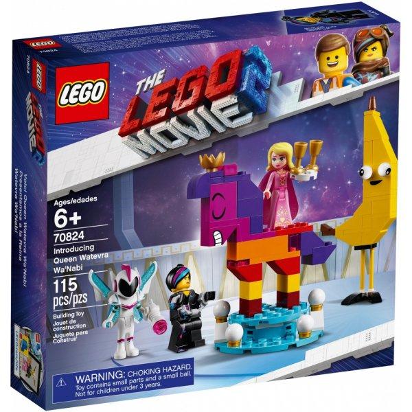 Набор Лего Конструктор LEGO The LEGO Movie 70824 Познакомьтесь с королевой Многоликой Прекрасной