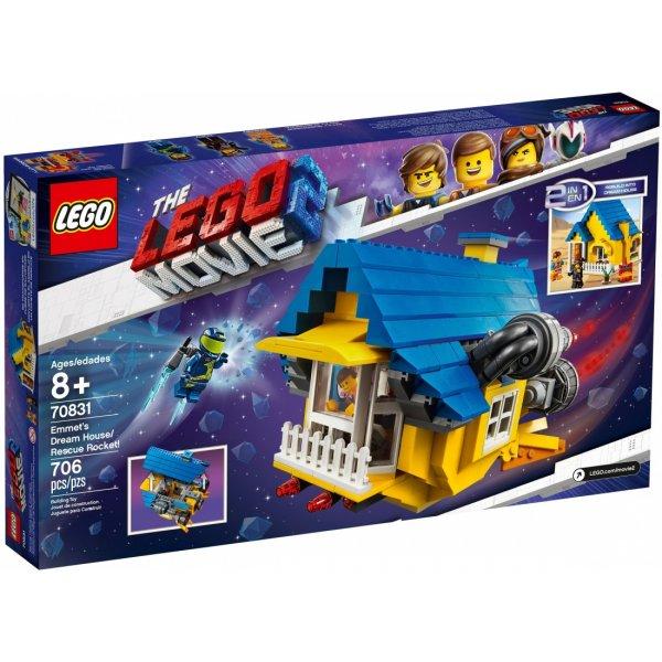 LEGO Movie 70831 Дом мечты Эммета