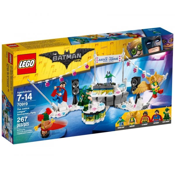 LEGO The Batman Movie 70919 Вечеринка Лиги Справедливости
