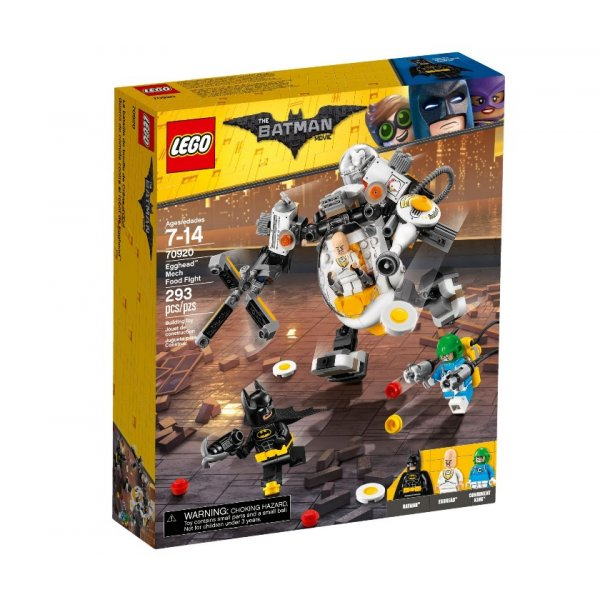 Набор Лего Бой с роботом Яйцеголового