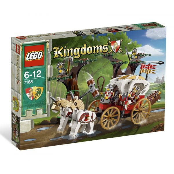 LEGO Эксклюзив 7188 Засада на повозку короля