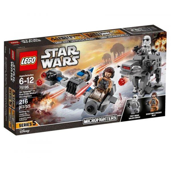 LEGO Star Wars 75195 Бой пехотинцев Первого Ордена против спидера на лыжах