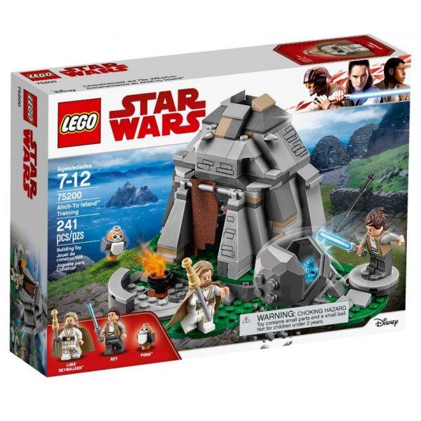 Набор Лего Конструктор LEGO Star Wars 75200 Тренировки на островах Эч-То