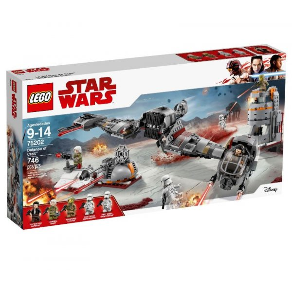 LEGO Star Wars 75202 Защита Крэйта