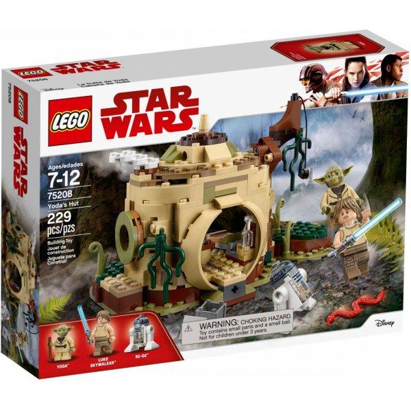 Набор Лего LEGO Star Wars 75208 Хижина Йоды