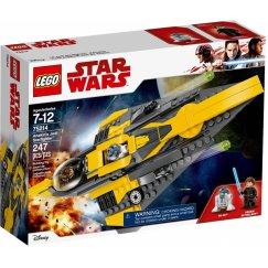 Набор лего - Конструктор LEGO Star Wars 75214 Звёздный истребитель Энакина