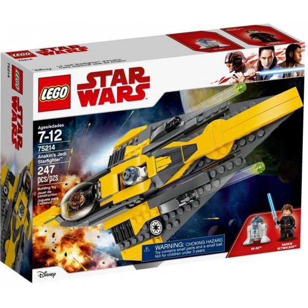 Набор Лего Конструктор LEGO Star Wars 75214 Звёздный истребитель Энакина