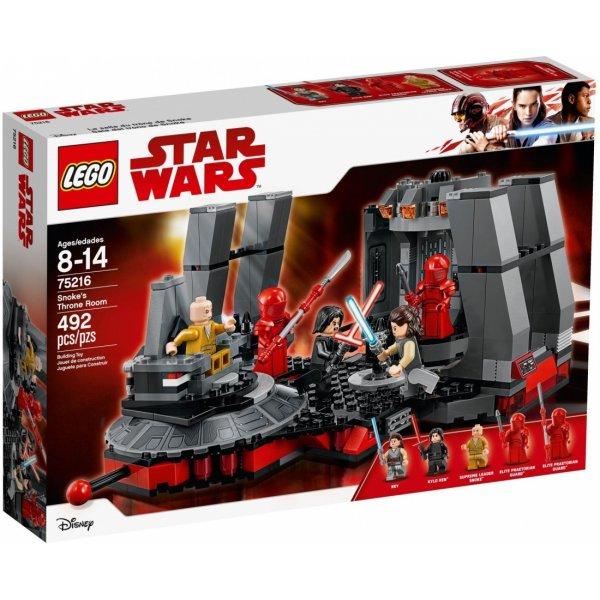 Набор Лего Тронный зал Сноука