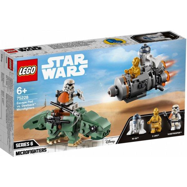 Набор Лего Спасательная капсула Микрофайтеры: дьюбэк