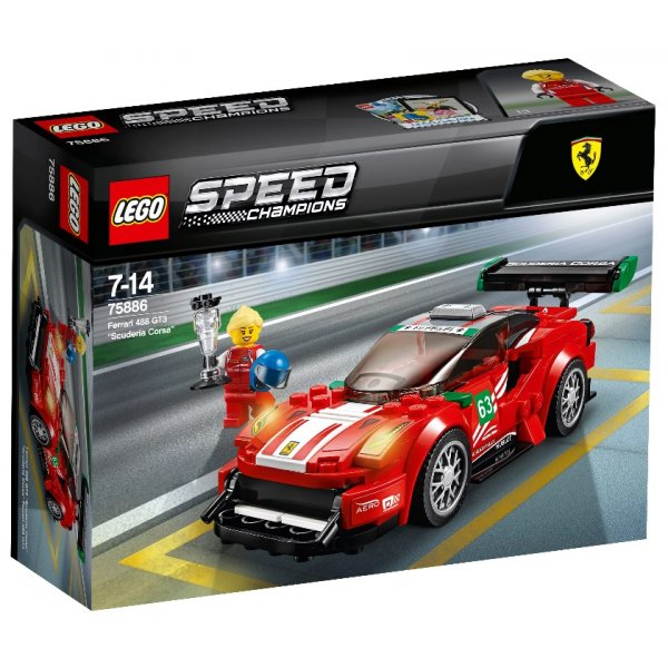 Набор Лего Феррари 488 GT3 Scuderia Corsa