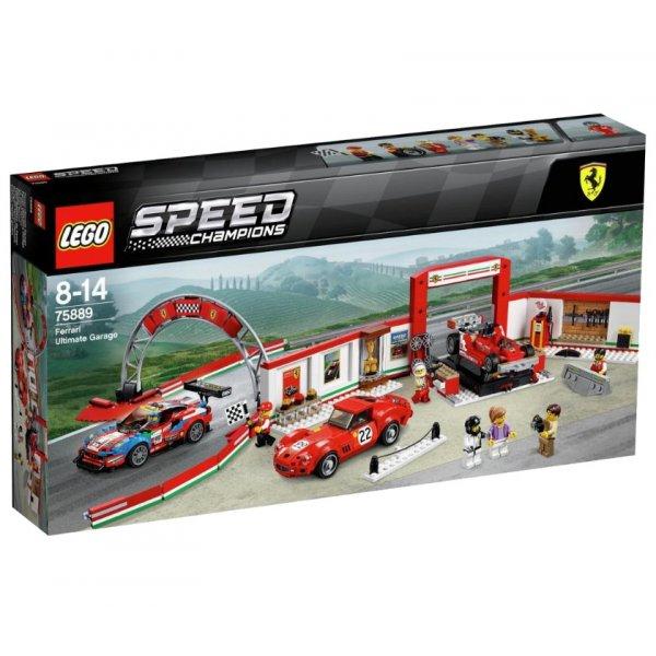 LEGO Speed Champions 75889 Гараж Феррари