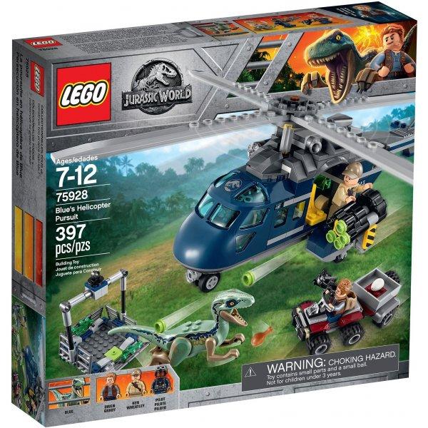 75928 LEGO Jurassic World 75928 Погоня за Блю на вертолёте