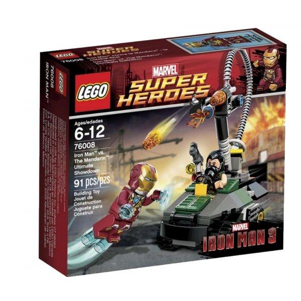 LEGO Marvel Super Heroes 76008 Железный человек против Мандарина