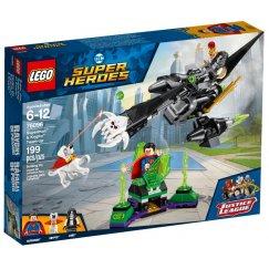 LEGO DC Super Heroes 76096 Супермен и Крипто объединяют усилия