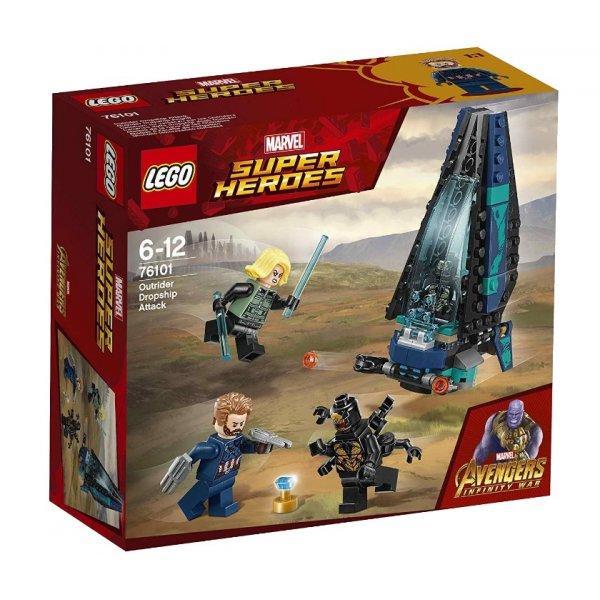 LEGO Marvel Super Heroes 76101 Война бесконечности: Атака всадников