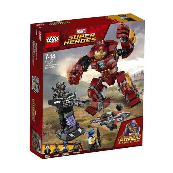LEGO Marvel Super Heroes 76104 Война бесконечности: Бой Халкбастера